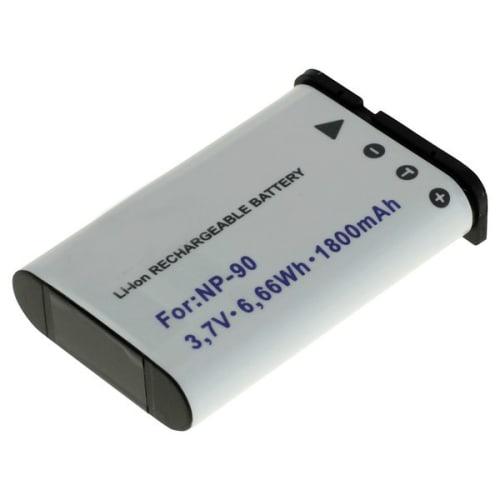 Akku für Casio Exilim EX-FH100, EX-H10, EX-H15, EX-H20G, EX-Z2000 - NP-90 (1800mAh) Ersatzakku
