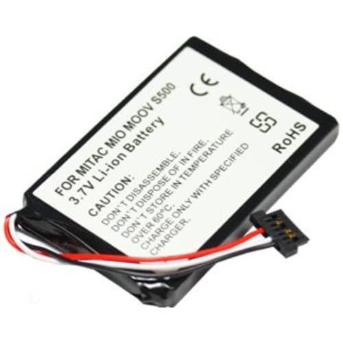 Batterie pour Mitac Mio Moov S500 Moov S556 (1100mAh)