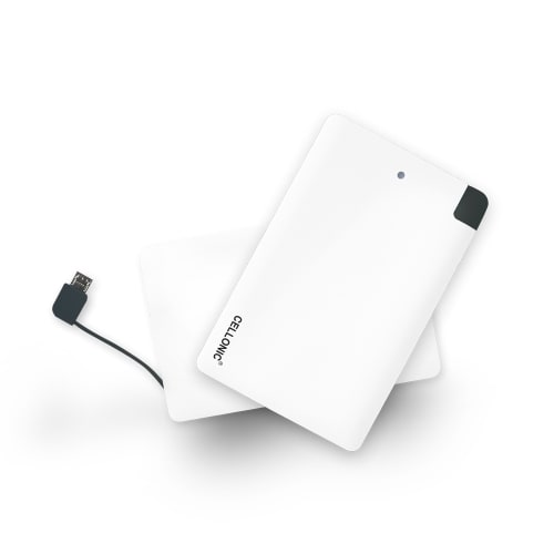 Cellonic® Externe batterij (2500mAh) Power Bank - USB-lader