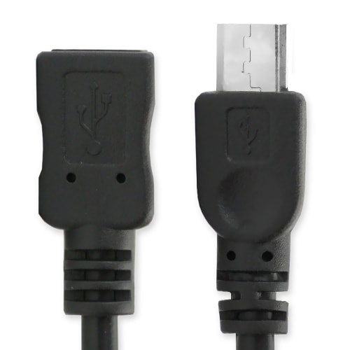 Extension datacable - 2m (micro USB 2.0, 5pin) Cable