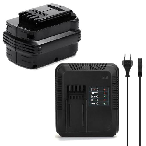 Batteri 24V, 3Ah, NiMH + Oplader til Dewalt DC222 / DC223 / DC224 - DE0240, DE0241, DE0242, DE0243 udskiftsningsbatteri