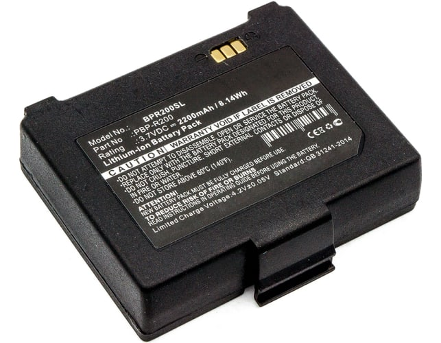 Akku für Bixolon SPP-R400, SPP-R200 II, SPP-R300 - PBP-R200 (2200mAh) Ersatzakku