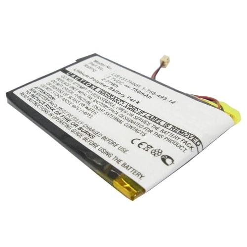 Akku für Sony NW-A2000 Sony NW-HD3 - LIS1317HNP,1-756-493-12, 5427B (750mAh) Ersatzakku
