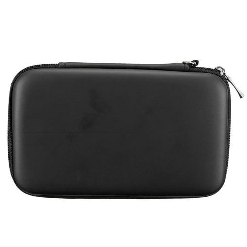 Case for Nintendo 3DS / 3DS XL / New 2DS XL / New 3DS XL - Plastic, Black Case