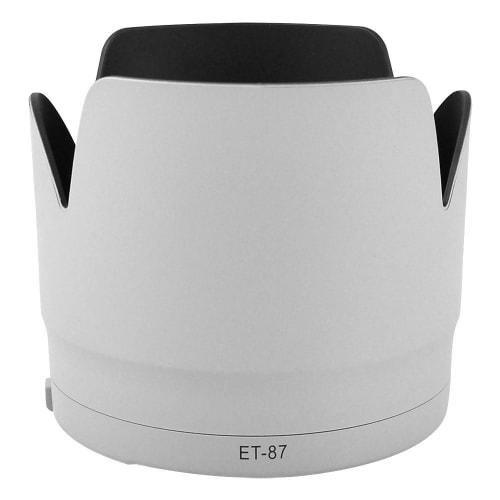 CELLONIC® ET-87 Parasol para el objetivo Canon EF 70-200mm 1:2,8L IS II USM Visera, Capilla