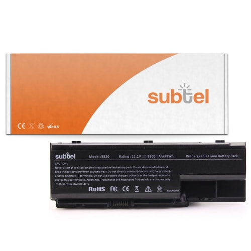 Batterie pour Machines E520 / E720 / G420 / G520 / G620 / G720 / E510 - AS07B41 (10.8V)* (8800mAh) Batterie de remplacement