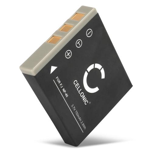 Batteri for Easypix S530 / VX600 / DVC5308 HD / VX1400 HD / TS530 / SDV 1200 - NP-40 (750mAh) reservebatteri