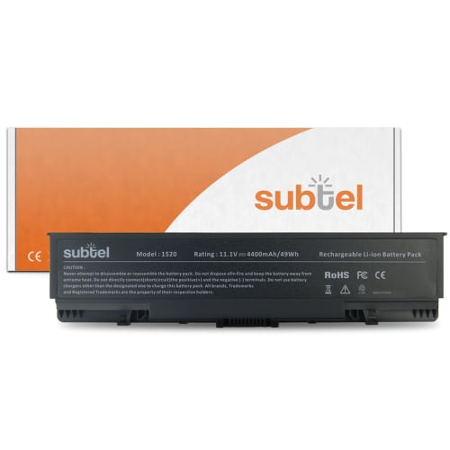 Batterij voor Dell Inspiron 1520 / 1521 / 1720 / 1721 / Vostro 1500 / 1700 - GK479 (4400mAh) vervangende accu