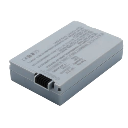 Batterie pour Canon DC50, Canon DC-51, Canon HR10 - BP-214 (1400mAh) Batterie de remplacement