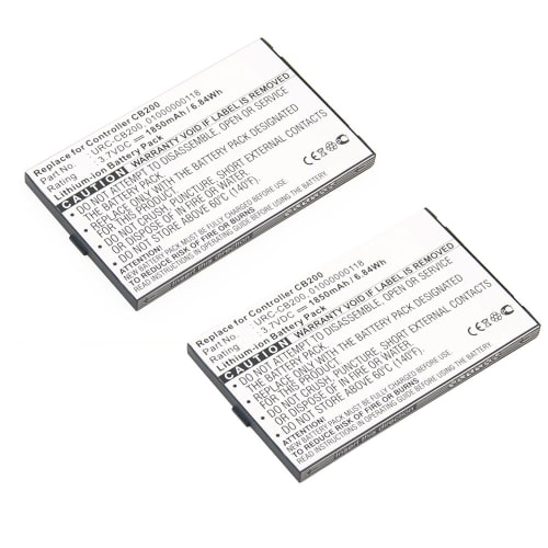 2x Battery for Sonos CB200 Controller CR200 CB200WR1 - URC-CB200 01000000118 MH28768 425060N 108098058018052 (1850mAh) Spare Battery Replacement