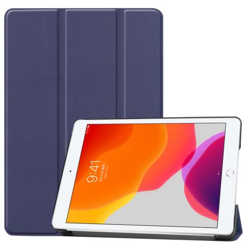 Smart Case for Apple iPad 10.2 2019 (7th Gen) - Artificial leather, Dark Blue Case