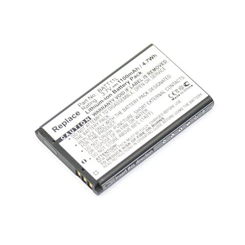Batterie pour Midland XTA-510 XTC-300 XTC-300VP4 XTC-350 NavGear MDV-2250.HD MDV-2250.IR Ordro HDV-V16 Vivitar DVR-820HD DVR-865HD DVR-925HD ViviCam 8025 Vivicam XO29 - XRA-510 BATT11L (1100mAh) Batterie de remplacement