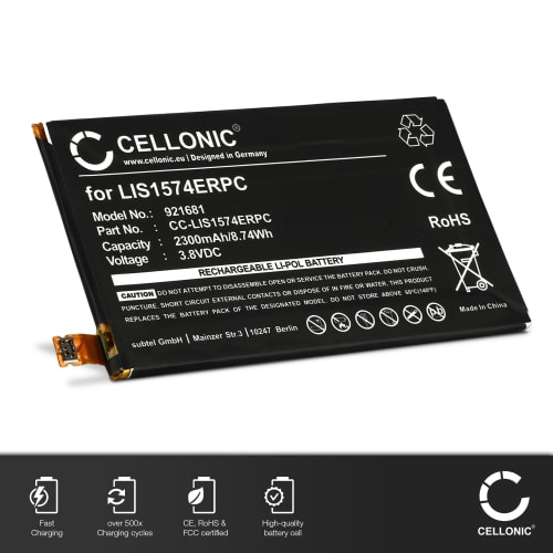 Battery for Sony Xperia E4 / E4g - LIS1574ERPC (2300mAh) Replacement battery