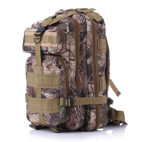 Hiking backpack made of durable Oxford 600D fabric. With expandable pockets | outdoor rucksack