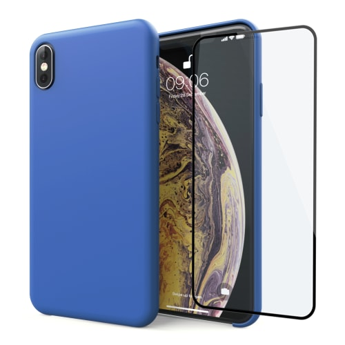 cover iphone xs vetro