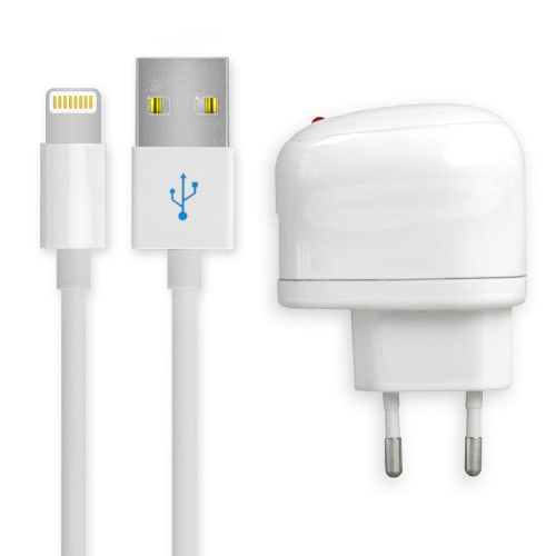 5b22bf86a41 Cargador para iPhone Xs Max / Xs / Xr / X / 8 / 8 Plus / 7 / 7 Plus / 6 / 6S  / 6 Plus / 6s Plus / 5 / 5c / 5s / SE 2 / SE / iPad 4 / Air / Pro / Mini ...
