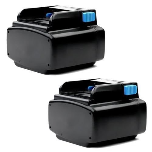 2x Batería 24V, 3Ah, NiMH para Hitachi CR 24DV, DV 24DV, UB 24D - EB2420, EB2433X, EB2430HA batería de Reemplazo