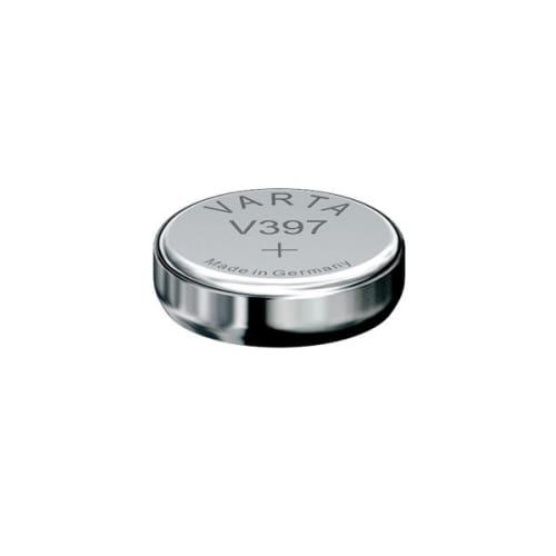 Uhrenbatterie Varta V397 SR59 / SR726SW 397 (x1) Knopfbatterie Knopfzelle Zellenbatterie