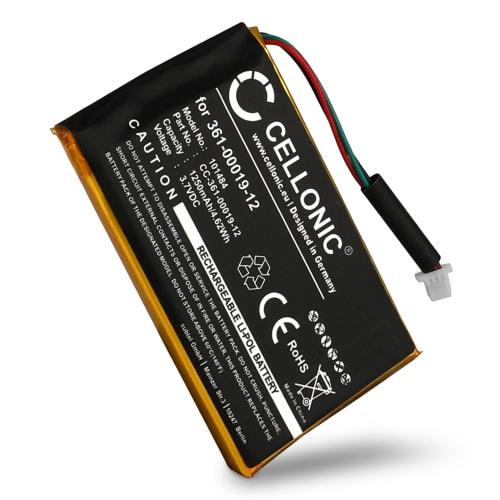 Batterie pour Garmin Edge 605 Garmin Edge 705 - 361-00019-12 (1250mAh) Batterie de remplacement