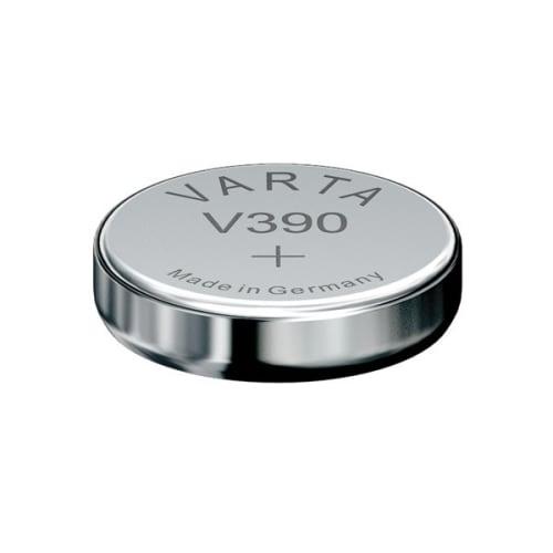 Uhrenbatterie Varta V390 SR54 / SR1130SW 390 (x1) Knopfbatterie Knopfzelle Zellenbatterie