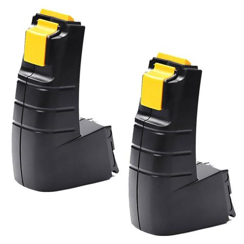 2x Batterie 12V, 3Ah, NiMH pour FESTOOL CDD 12, CDD 12 ES, CDD 12 ES-C, CDD 12 FX, CDD 12 MH - BP 12 C, BPH 12 C batterie de remplacement
