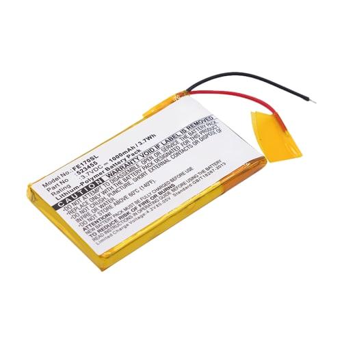 Batterie pour FiiO E7, E17 - 523455 1000mAh Batterie de remplacement