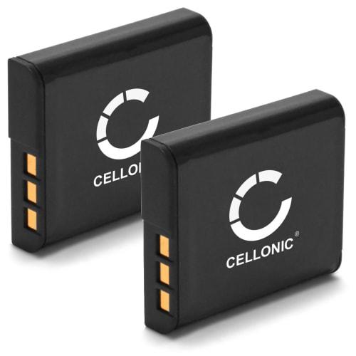 2x Batterie pour Sony Cyber-shot DSC-HX20V DSC-HX9V DSC-HX30V DSC-HX5V DSC-HX10V - NP-BG1 / NP-FG1 (900mAh) Batterie de remplacement