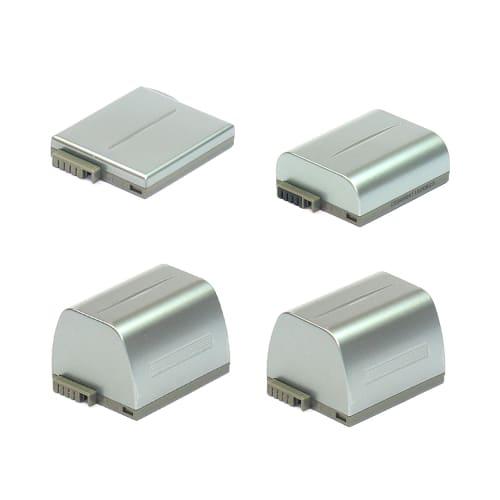 Batterie pour Canon Optura 300 / MVX10i / MV4i / MV4 / MV3 / IXY DV M2 / IXY DV2 (800mAh) BP-406,BP-407,BP-412,BP-415