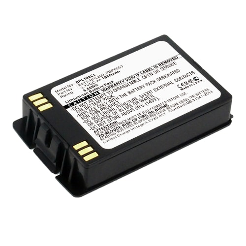Battery for Avaya 3641, 3645, 6120, 6140, Polycom 6020, 8020, PBP1300, PBP1850, Spectralink BPL100, BPL200, BPL300 - 700430457, BATT-BPL200, BPL100, PBP0850 (1800mAh) Replacement battery
