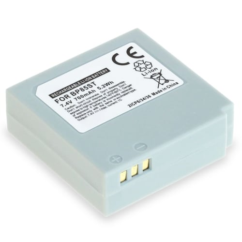 Akku für Samsung VP-MX20 -MX25 -MX10 SMX-F30 -F33 -F34 -F300 SC-MX20 -MX10 HMX-H100 VP-HMX10 -HMX20 -HMX08 - IA-BP85ST,IA-BP85NF 700mAh Ersatzakku