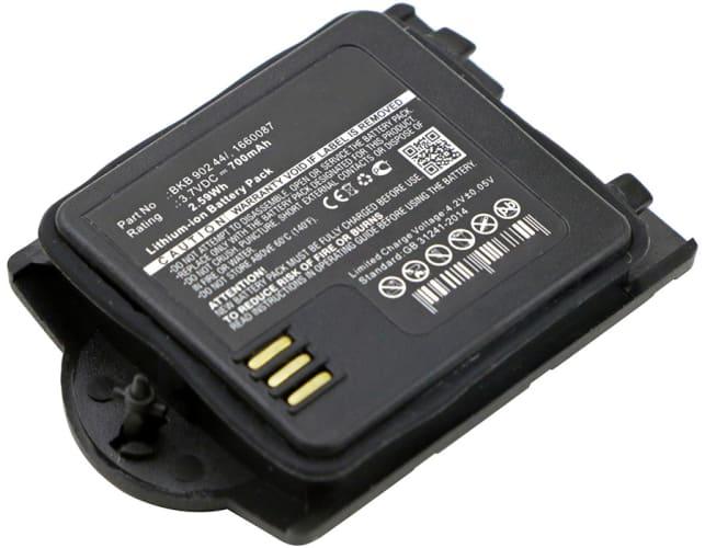 Accu voor Ascom Grade 3, Messenger / Talker / Raid2 9D24 MKII, Ericsson DT412 V2, DT422 V2 - 660087,660088,BKB 902 44/1,BKBNB 902 44/1 (700mAh) vervangende accu
