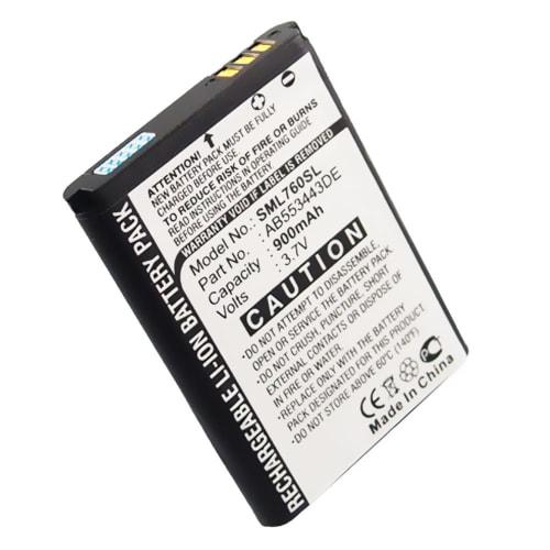 Batteria per Samsung SGH-L760 (900mAh) AB553443