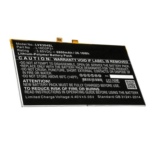 Batteria per Lenovo Tab 4 10 / Tab 4 10.1 - L16D2P31 (6800mAh) batteria di ricambio