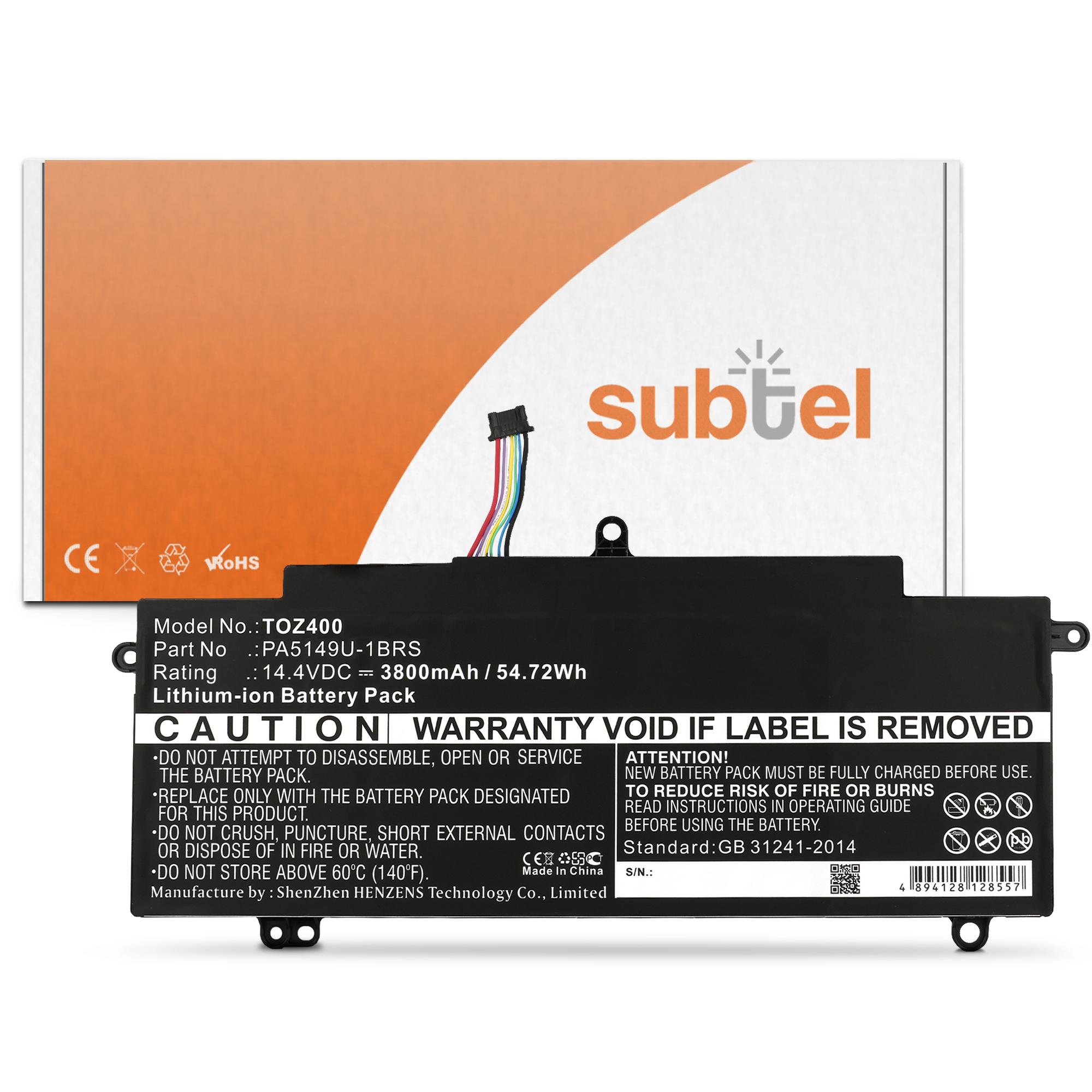 Toshiba Tecra Z50-A-1C2 Batterie Batterie pour Toshiba Tecra Z40-A /... par LeGuide.com Publicité