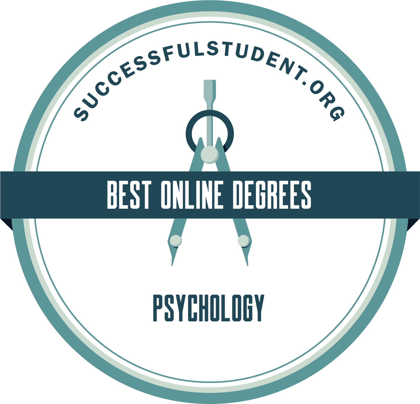 The Best Online Psychology Degree Programs's Badge