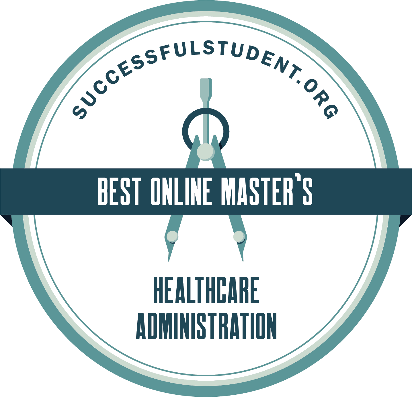 The Best Online MHA Programs: Online Master's in Healthcare Administration Degrees's Badge