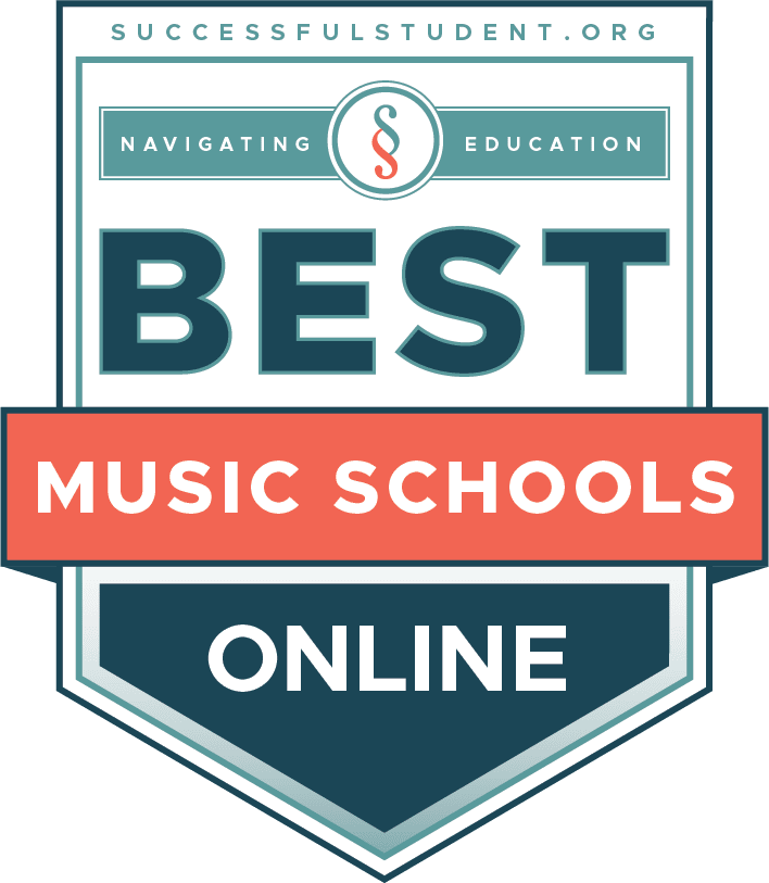 The Best Online Music and Music Production Schools 2021's Badge