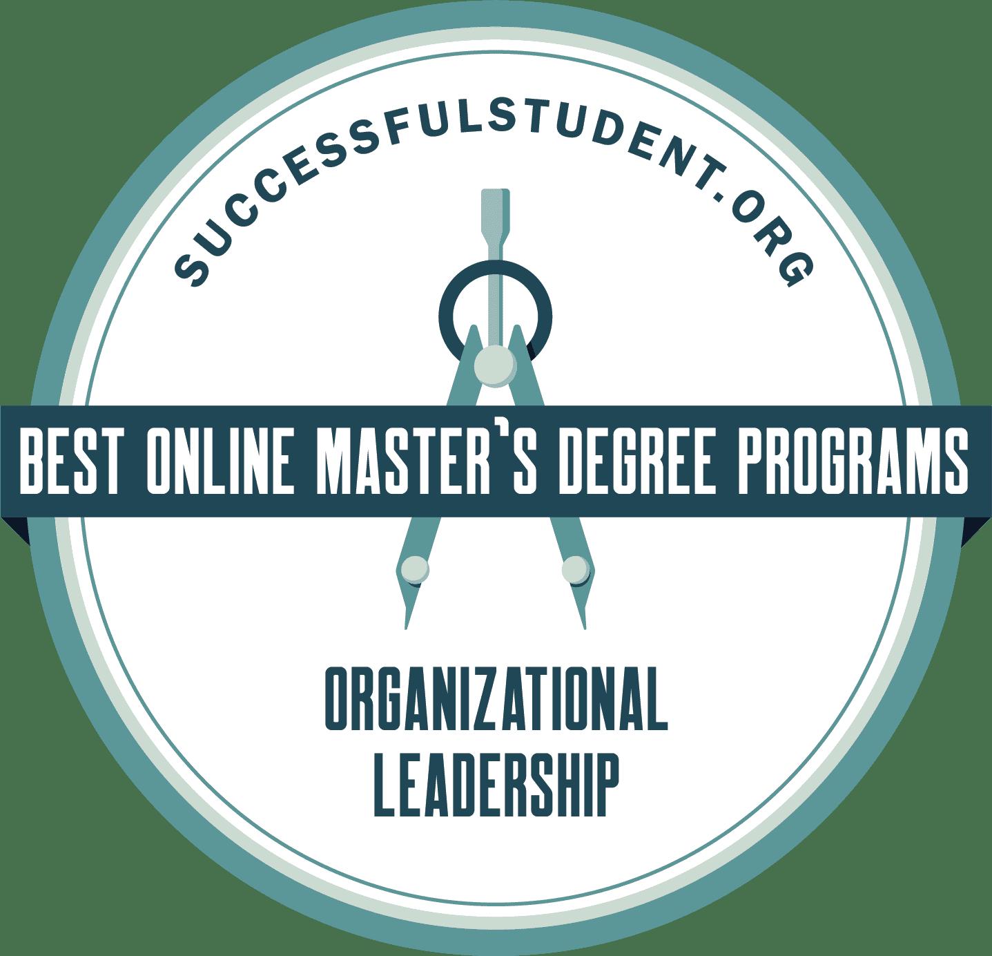 The Best Online Master's in Organizational Leadership Degree Programs's Badge