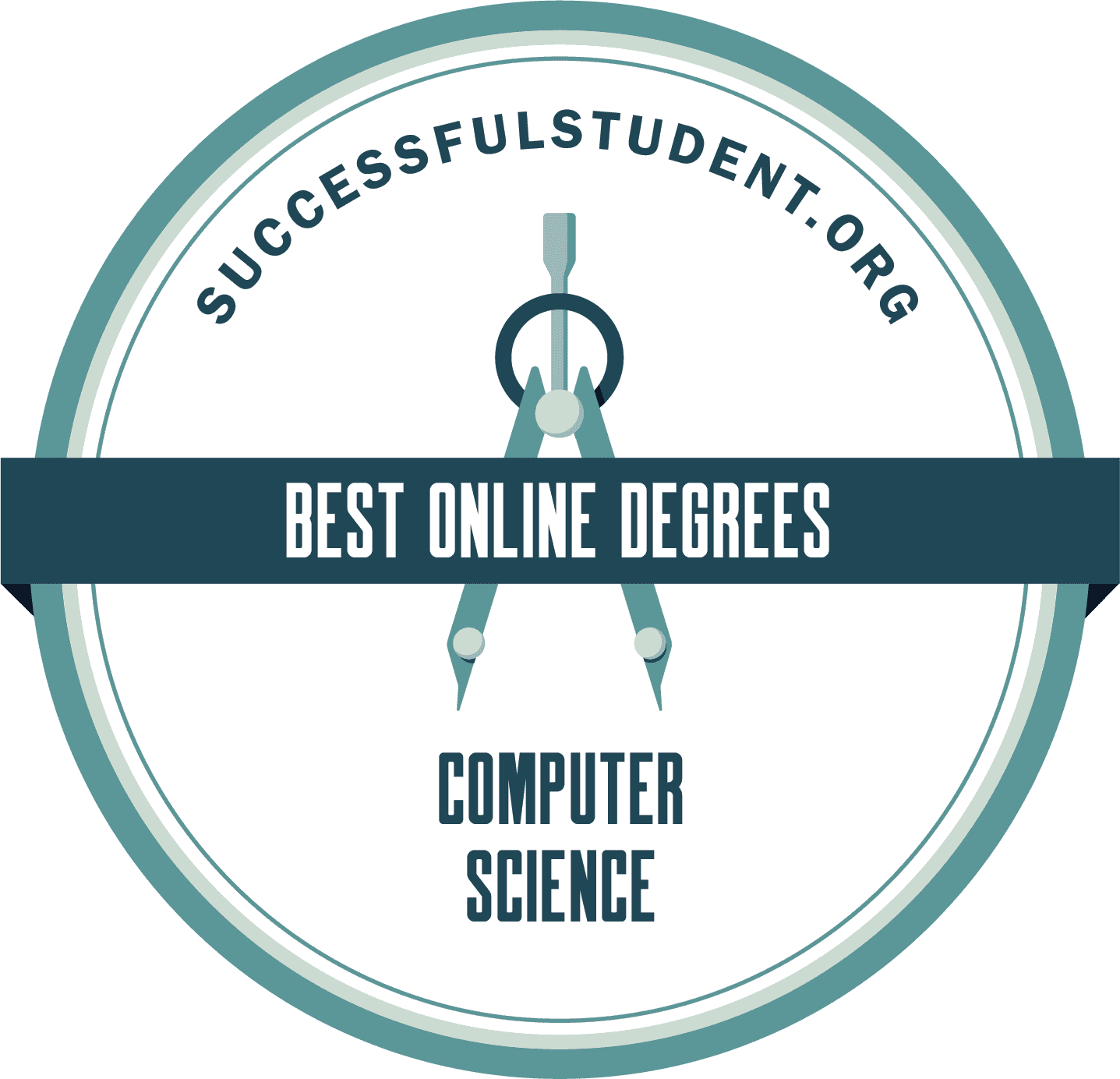 The Best Online Bachelor's in Computer Science 2021's Badge