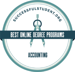 The Best Online Bachelor's in Accounting Degrees's Badge