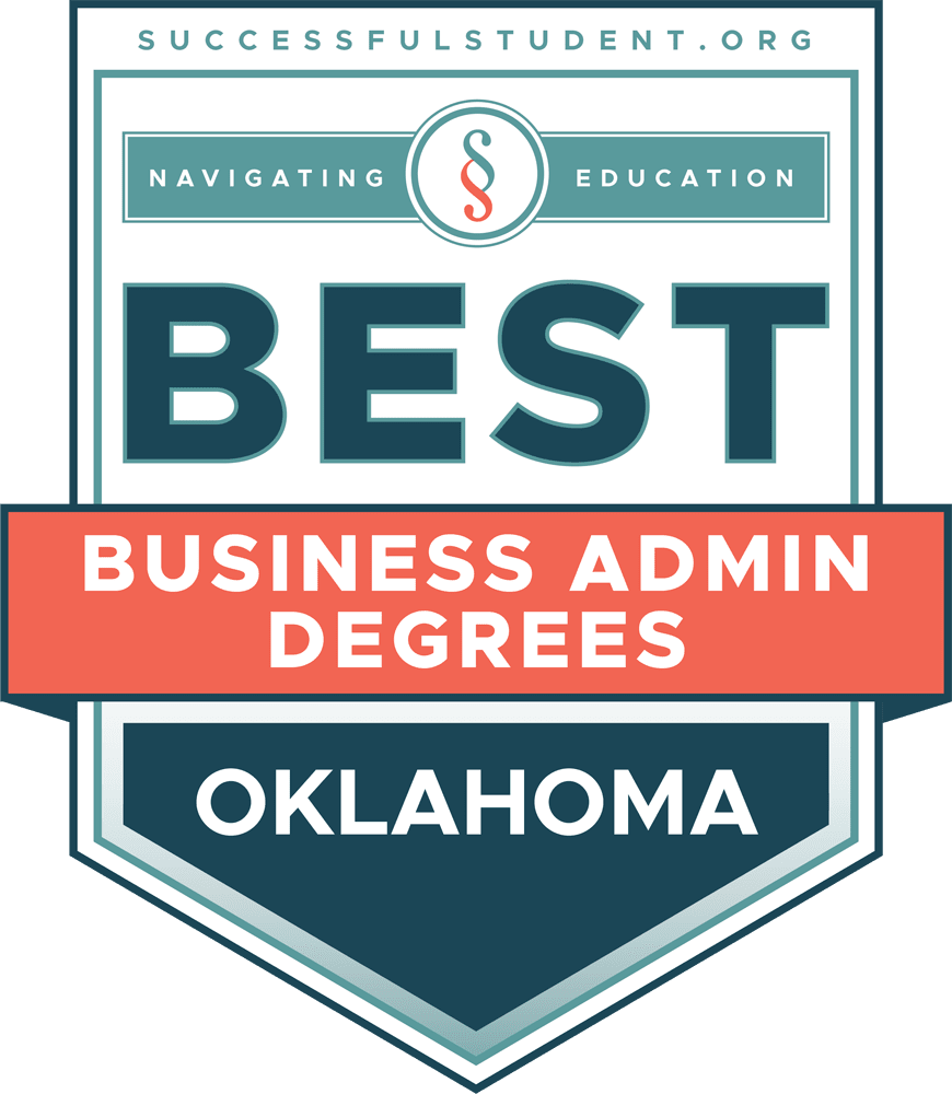 The Best Bachelor's in Business Administration Degrees in Oklahoma's Badge