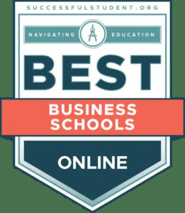 The 50 Best Online Business Schools's Badge