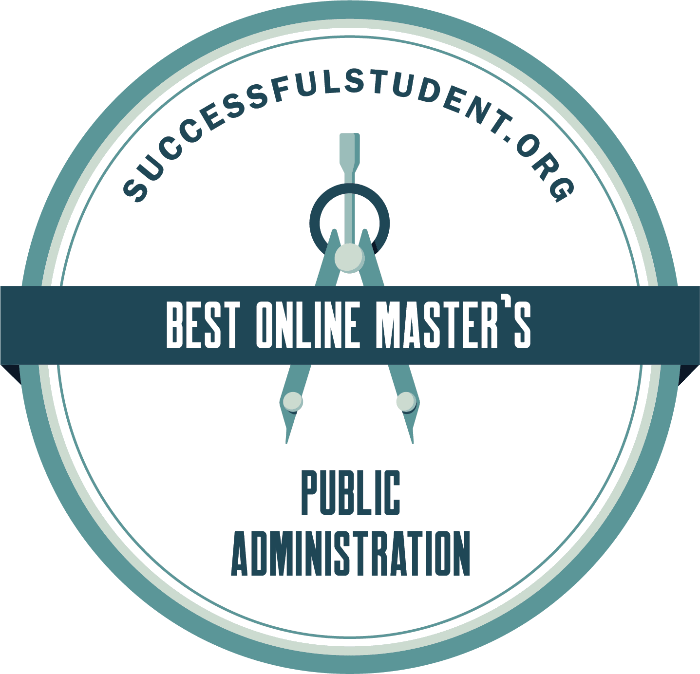 Best Online MPA Programs: Master's in Public Administration's Badge