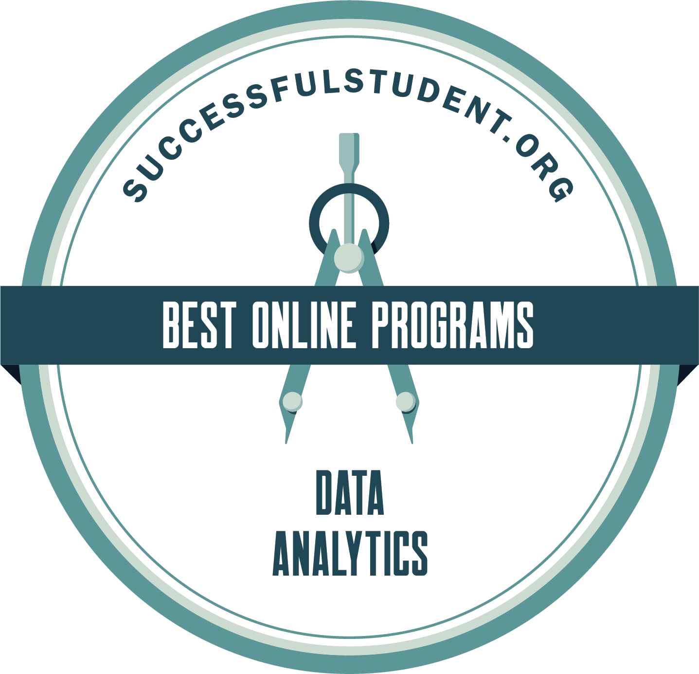 The Best Online Data Analytics Programs 2021's Badge