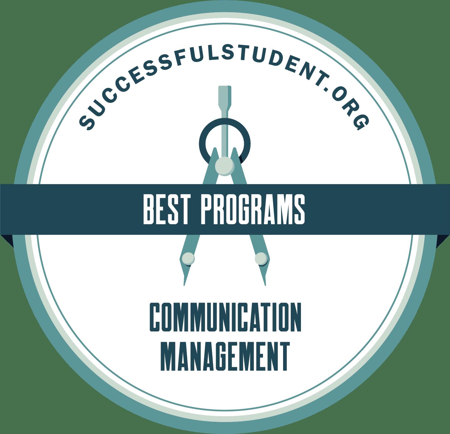 17 Best Communication Management Programs's Badge