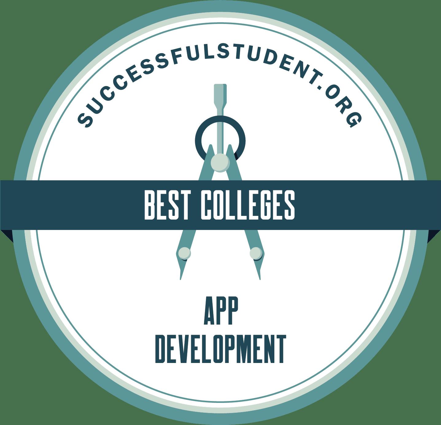 The Best App Development Colleges 2021's Badge