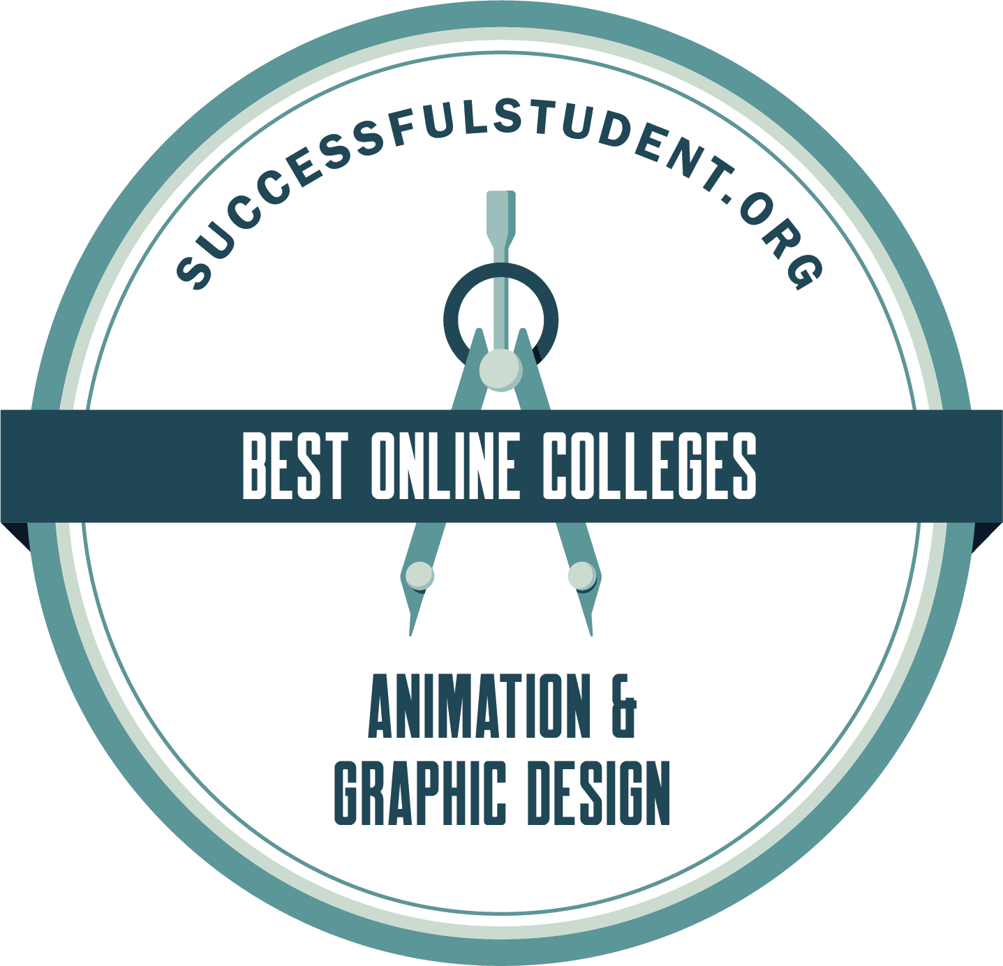 The Best Online Animation and Graphic Design Colleges 2021's Badge