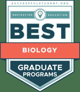 10 Best Graduate Biology Programs's Badge