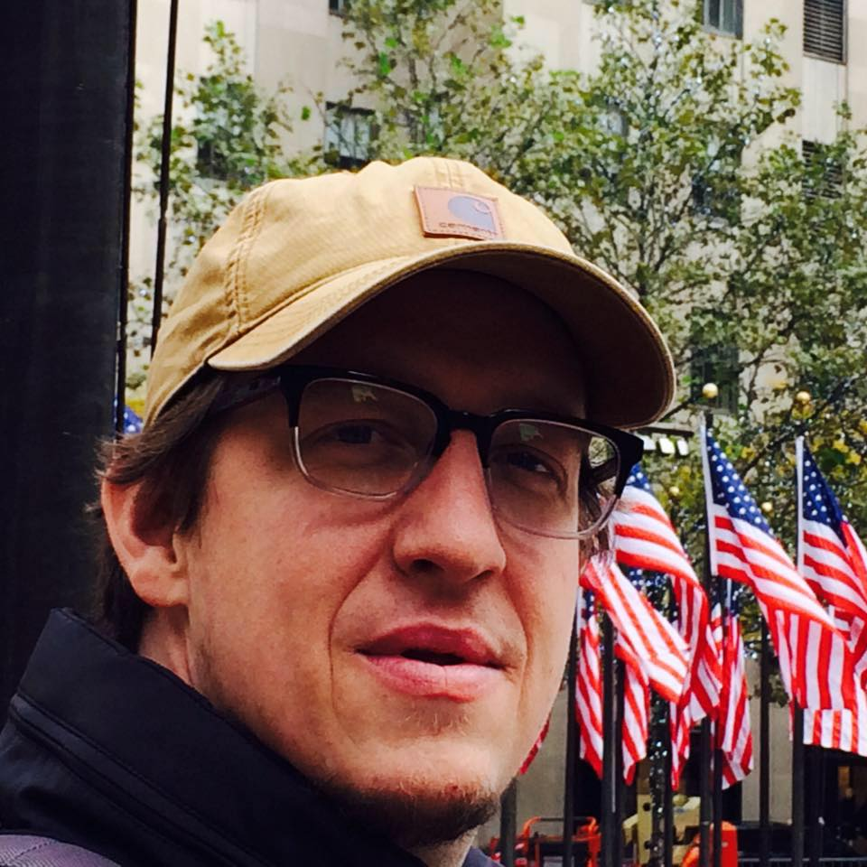 Jake Akins in New York City