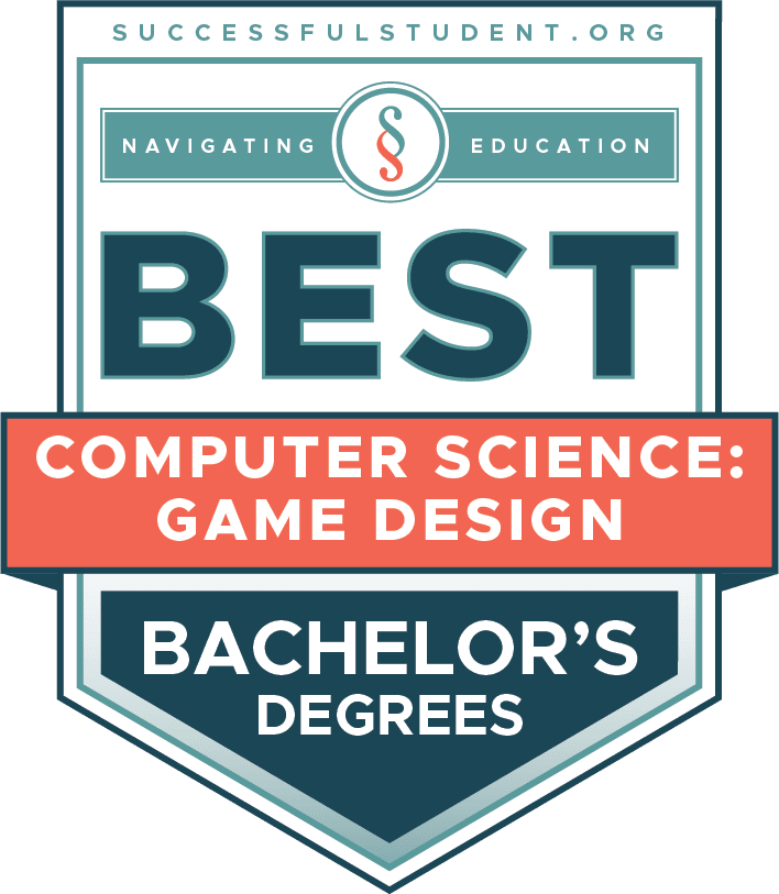 The Best Bachelor's Degrees in Computer Science: Game Design's Badge